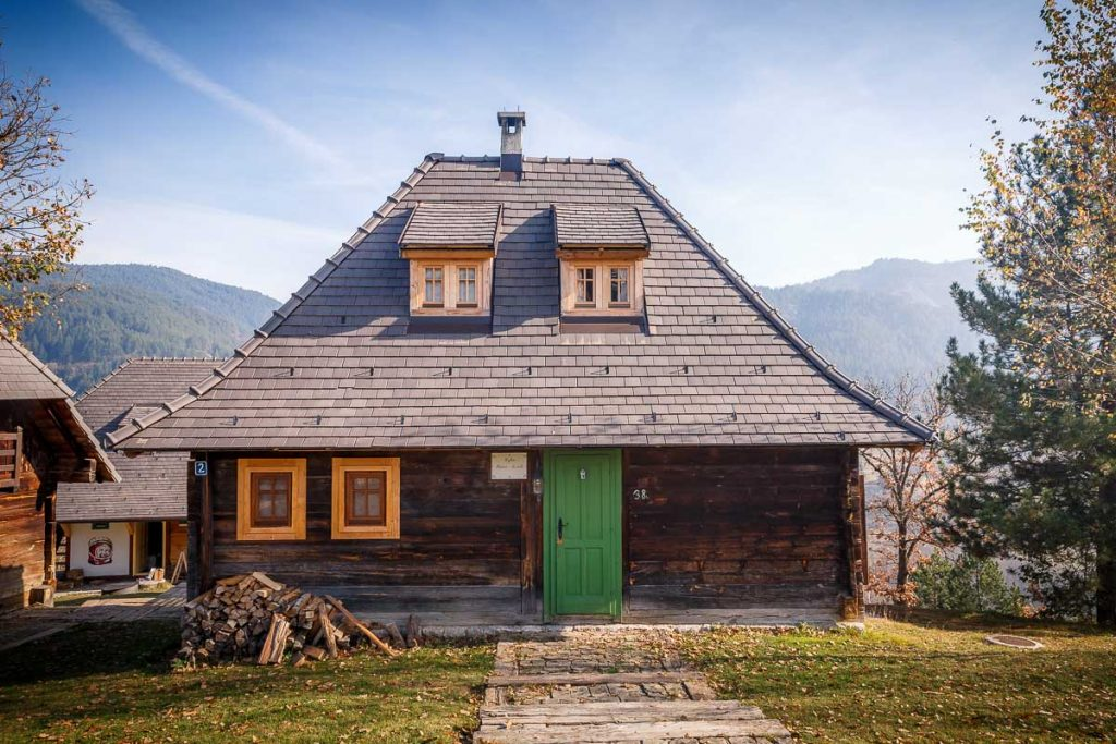 Wooden House in Drvengrad, Mokra Gora, Serbia