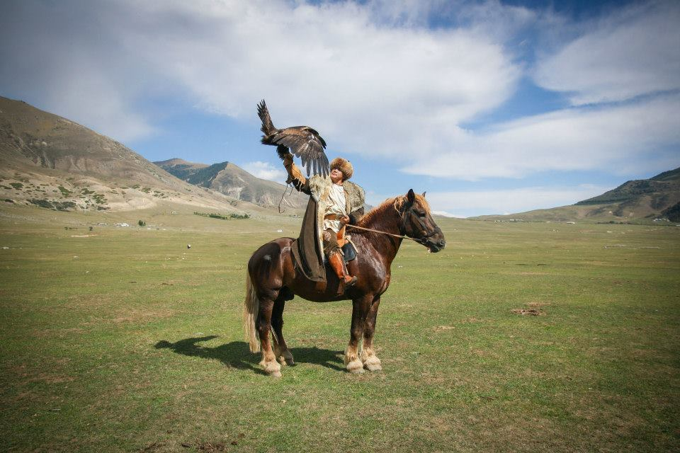 Kyrgistan horse Rider - Picture by Margo