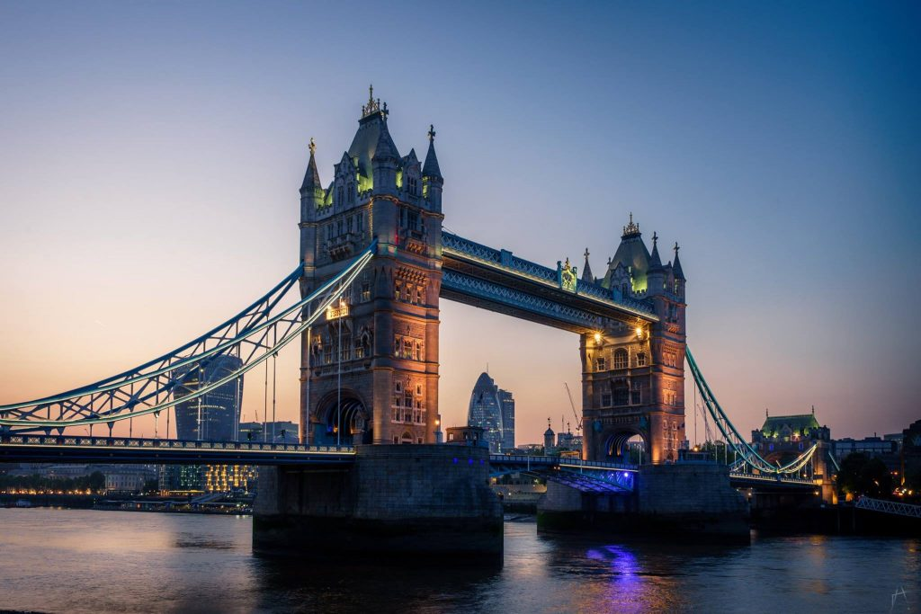 Tower bridge London -Picture by Arek