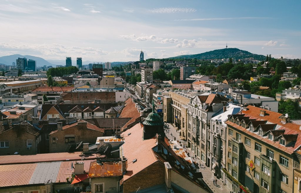 Picture of a view of Sarajevo - Bosnia and Herzegovina